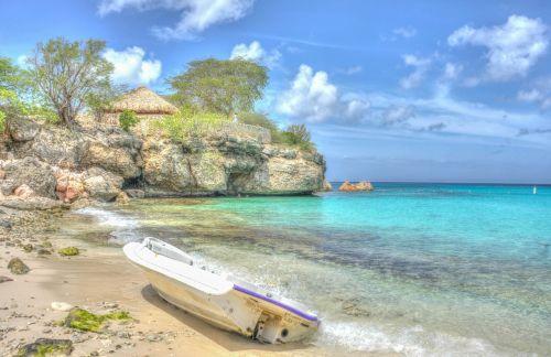 boat beach coastline