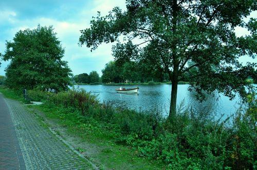 boat river amstel