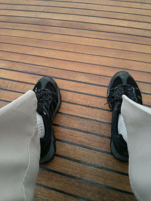 boat deck deck wood