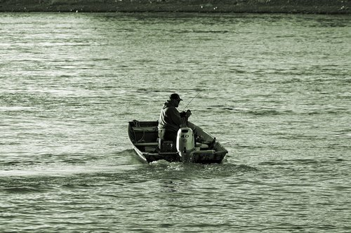 boat fishing missouri river  river  fishing