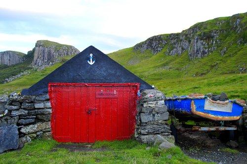 boat house  isle of skye  skye