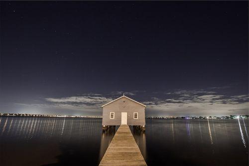 boat house jetty pier