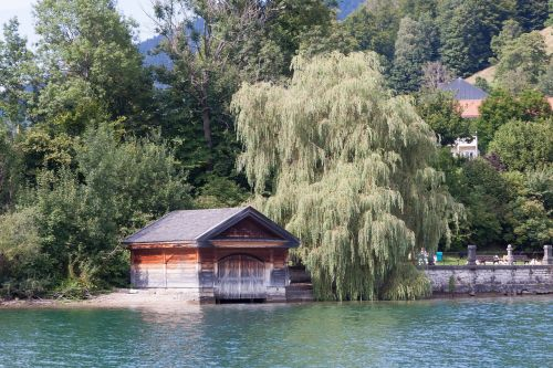 boat house old antique