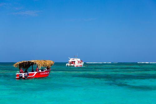 Boat In Caribbean