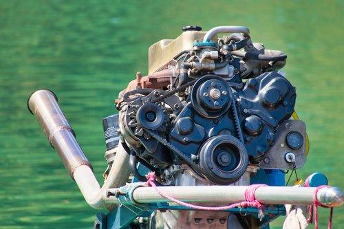 boat motor  thailand  motor