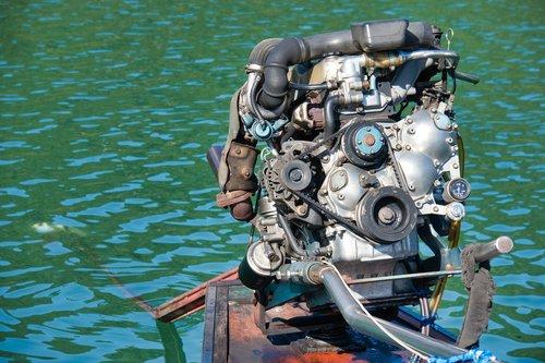 boat motor  motor  longtail boat motor