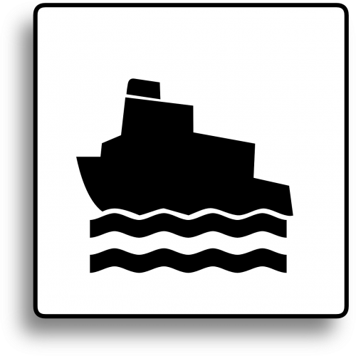 boat sign ship sign ferry sign