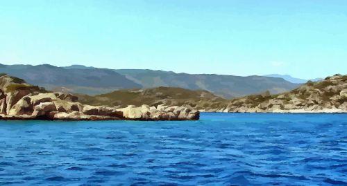 boat trip sea island