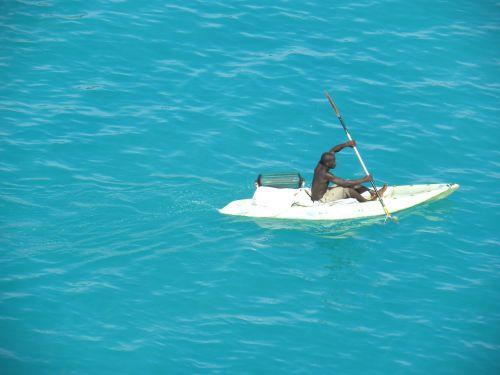 boater kayaker water