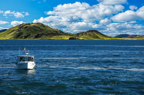 Boating Seascape