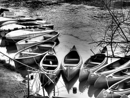boats canoeing paddle