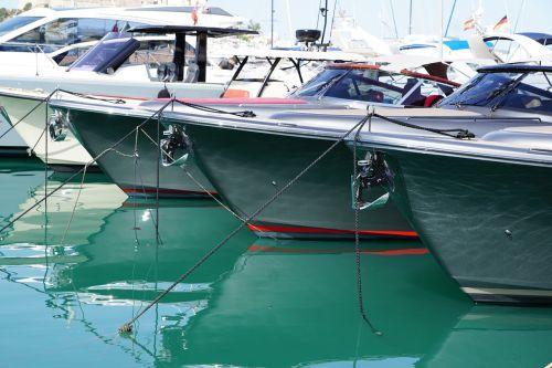 boats port sea