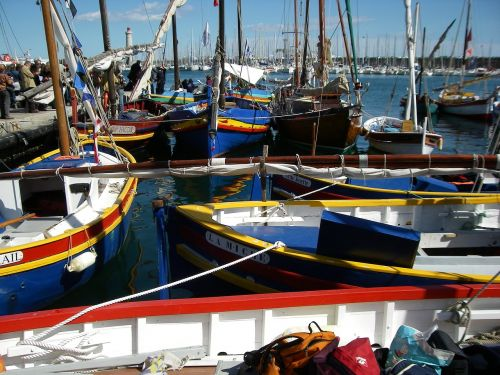 boats old rigs wharf