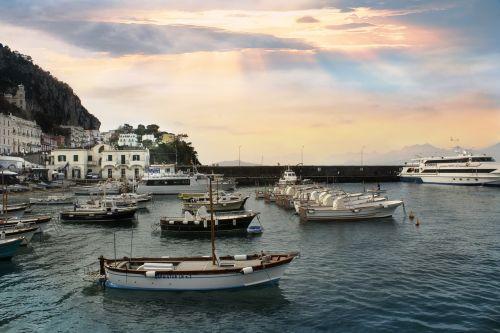 boats italy mediterranean sea