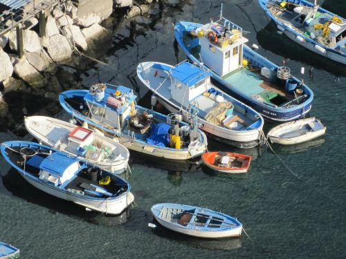 boats sea capri