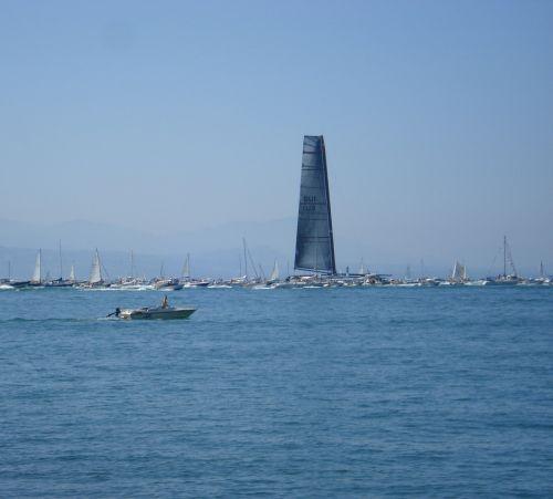 boats sailing alinghi
