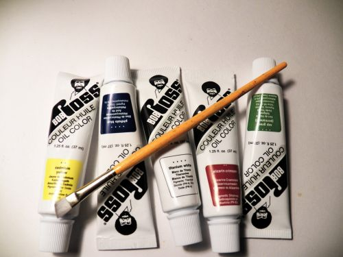 Bob Ross Oil Color Paints