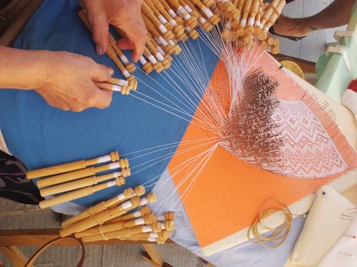 bobbin lace crafts sewing