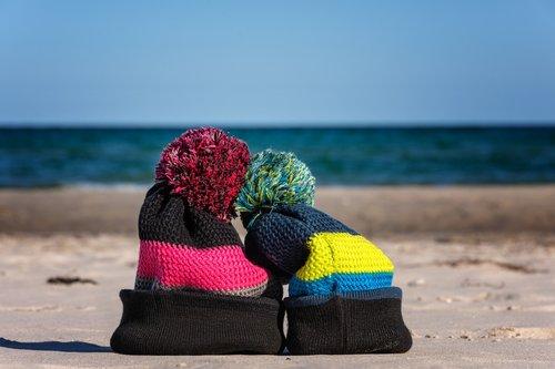 bobble hat  cap  knit beanie cap