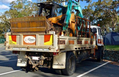 bobcat machine excavator