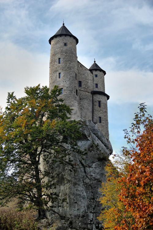 bobolice castle poland