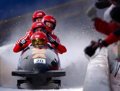 bobsled team run
