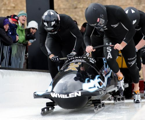 bobsled competition team