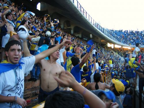 boca juniors football crowd