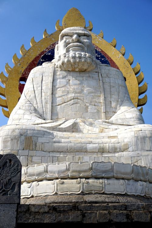 bodhi dharma statue song mountain buddhism