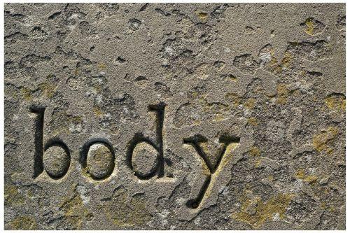 body grave stone