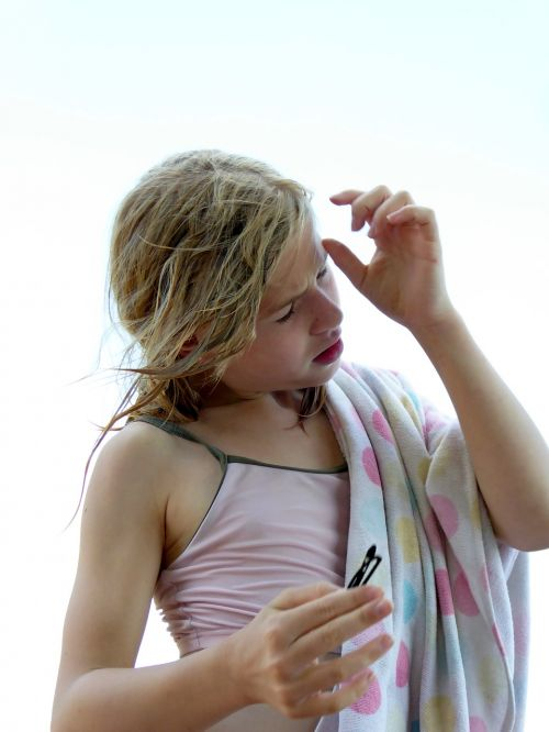 body hygiene hair care towel