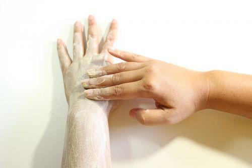 body scrub scrub hand scrub