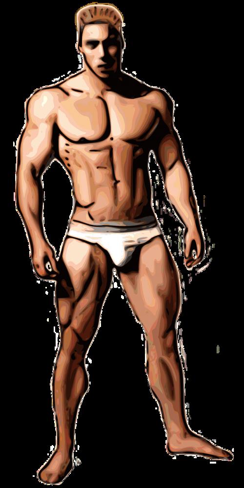 bodybuilder boy fitness