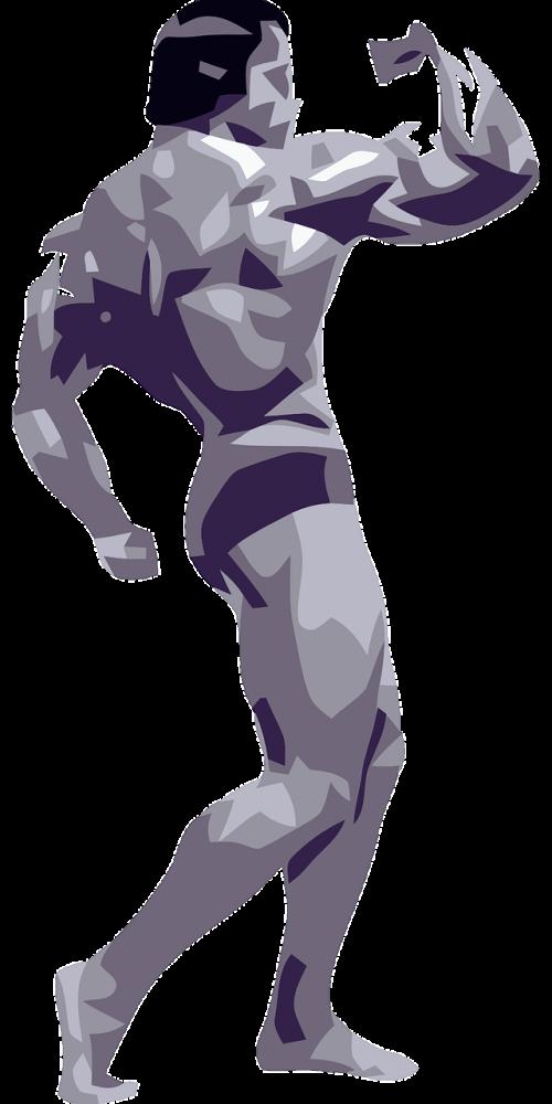 bodybuilding posing strength