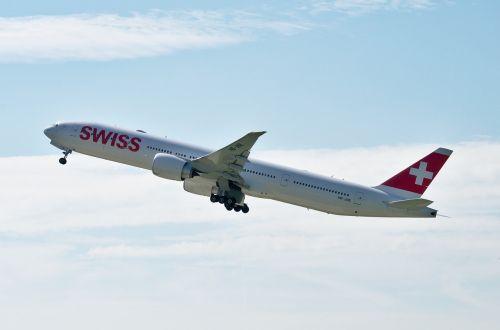 boeing 777 swiss airlines zurich