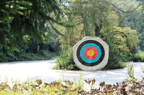 bogensport target arrow