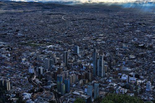 bogota sky colombia
