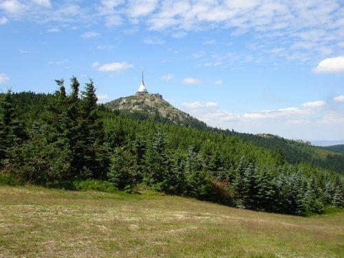 bohemia mountains ještěd
