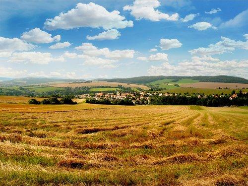 bohemia  south bohemia  village