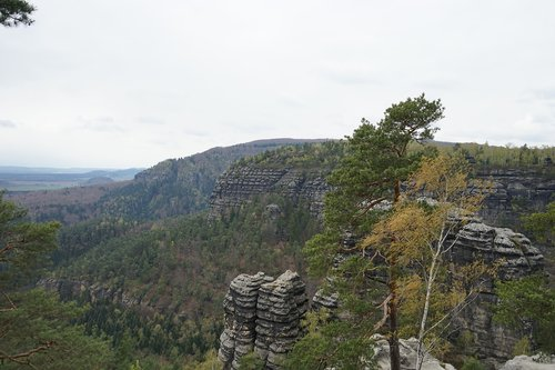 bohemian switzerland  cz  rock