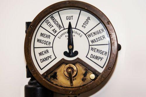boiler telegraph kommunilation command bridge