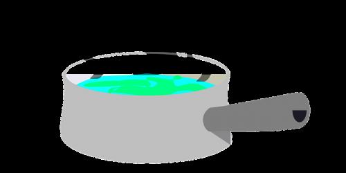 boiling pan sauce