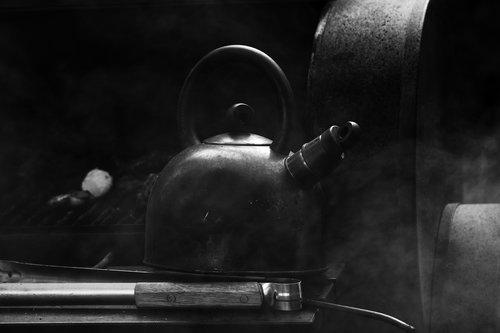 boiling  steam  smoke