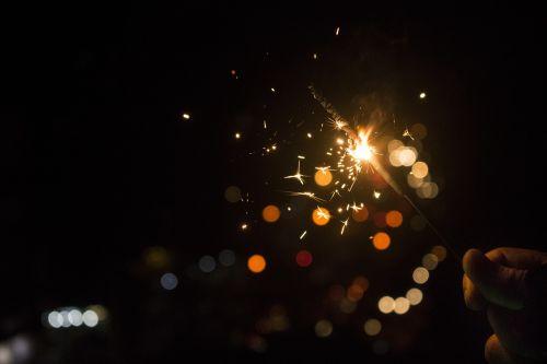 bokeh dark lights
