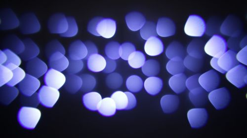 bokeh bokeh of lights blue bokeh
