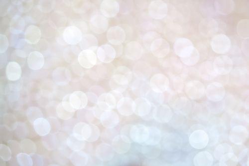 bokeh sparkle white