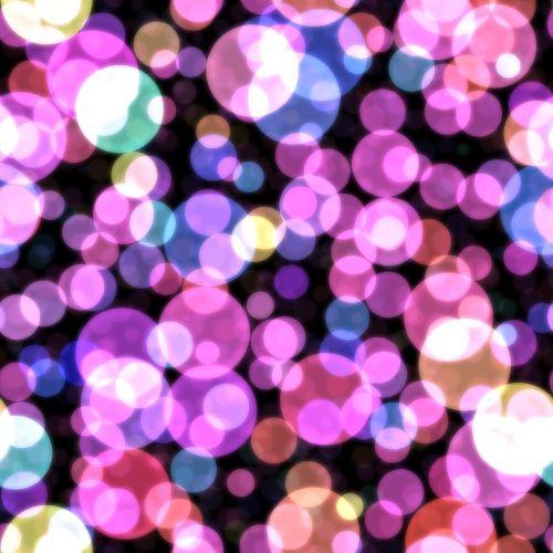 bokeh hot pink purple