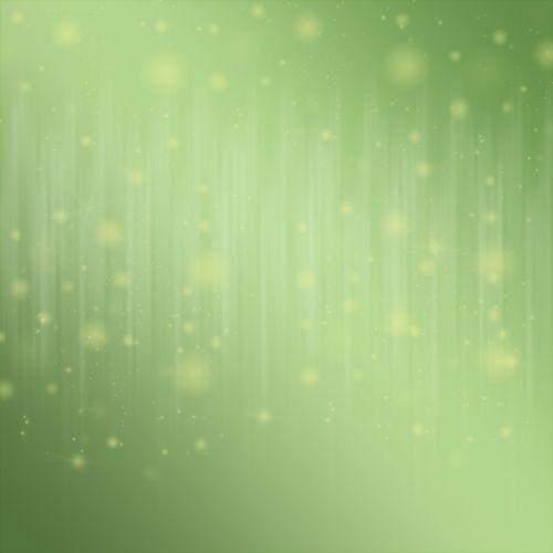 Bokeh Lights Blended Green