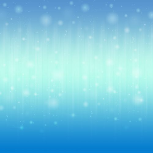 Bokeh Lights In Blended Blue