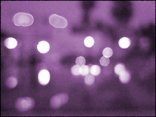 Bokeh With Mauve Background